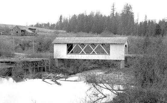 Jordan Covered Bridge,1946