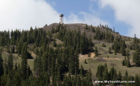 Lookout Tower on Fairview Peak
