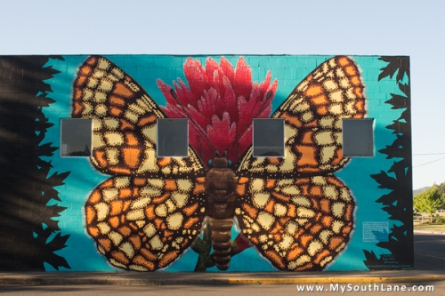 Taylor's Checkerspot Mural